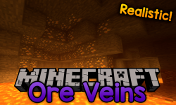 ore veins mod for minecraft logo