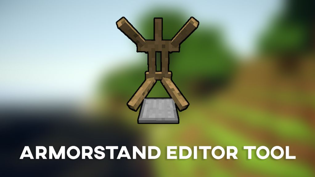 ArmorStand Editor Tool Data Pack Thumbnail