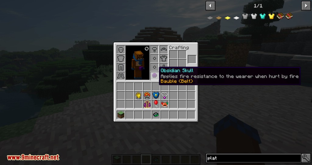 Artifacts mod for minecraft 04