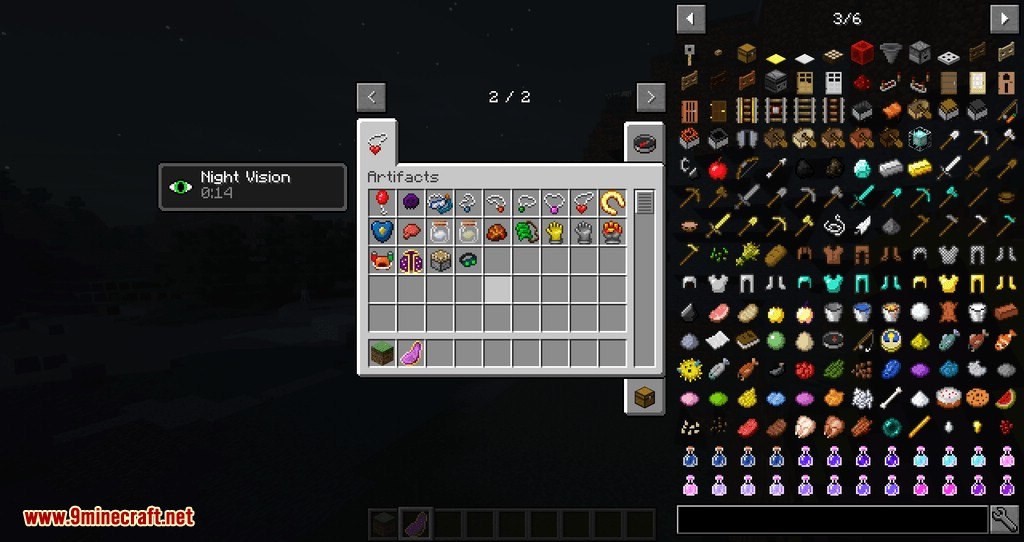 Artifacts mod for minecraft 14