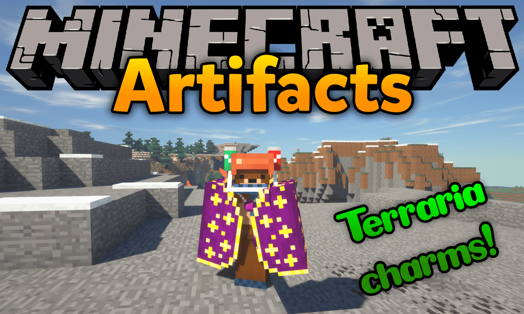 Artifacts mod for minecraft logo