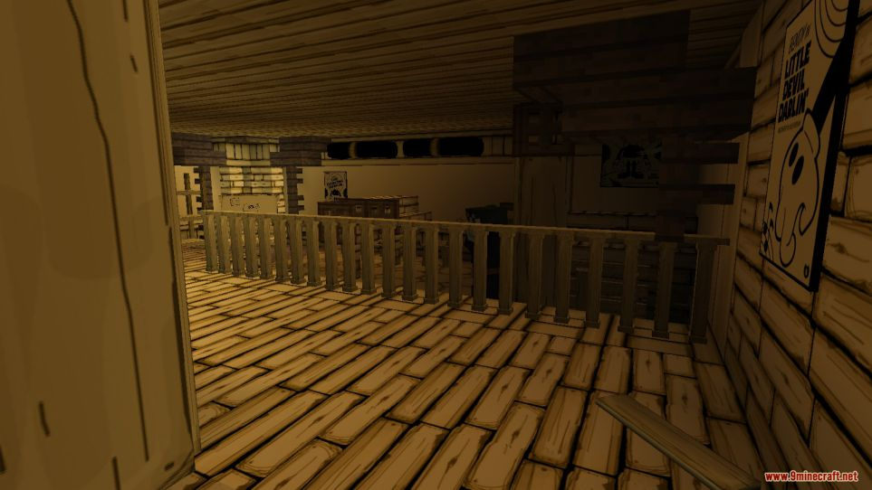 Bendy and the Ink Machine (Chapter 1) Map Screenshots (8)