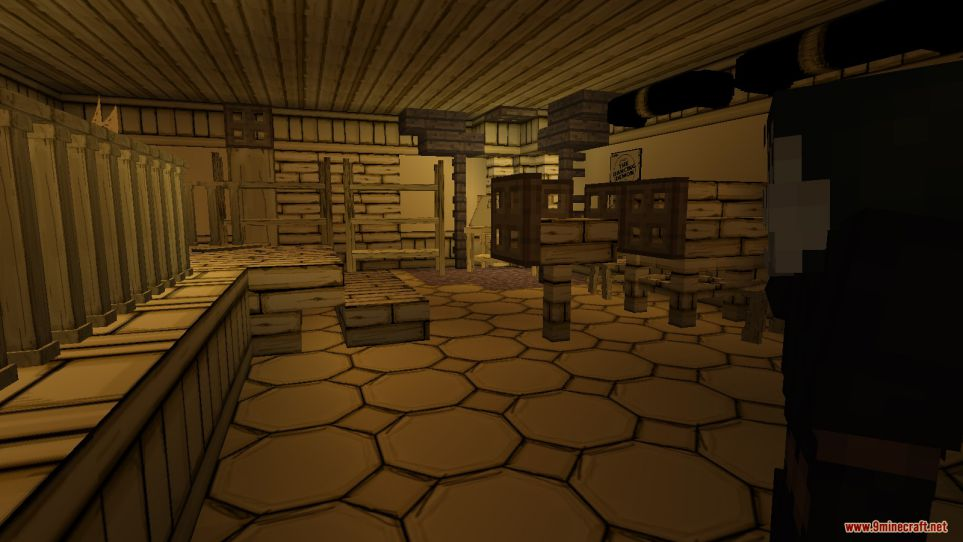 Bendy and the Ink Machine (Chapter 1) Map Screenshots (9)