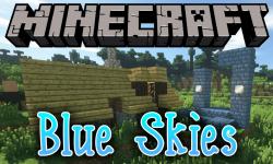 Blue Skies mod for minecraft logo
