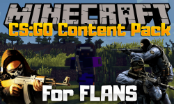 CSGO Content Pack mod for minecraft logo