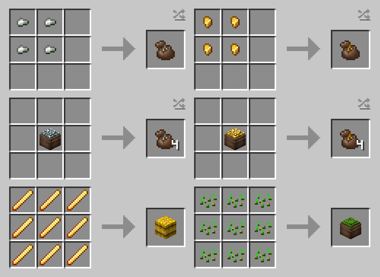 Compressed Items mod for minecraft 25