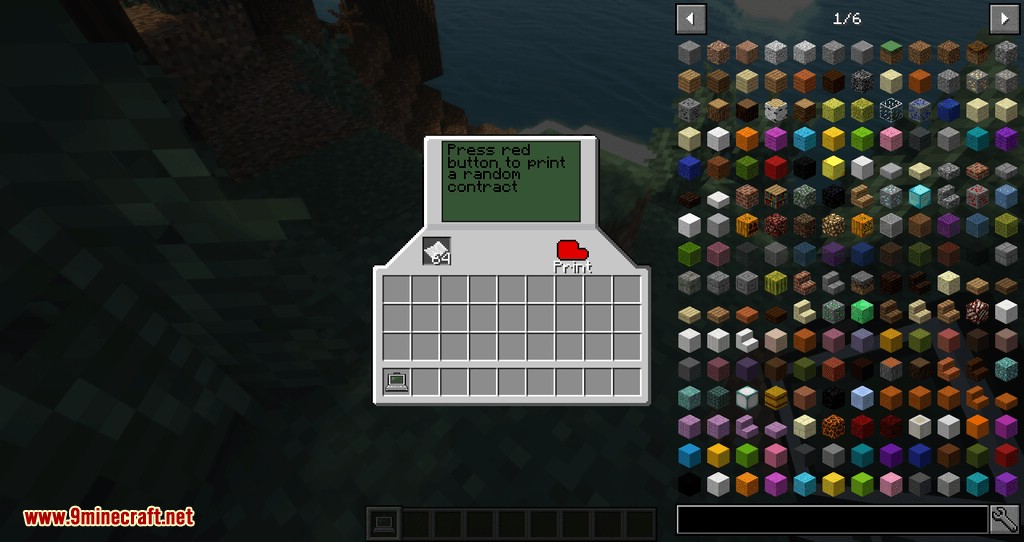 Contracts Mod for minecraft 01
