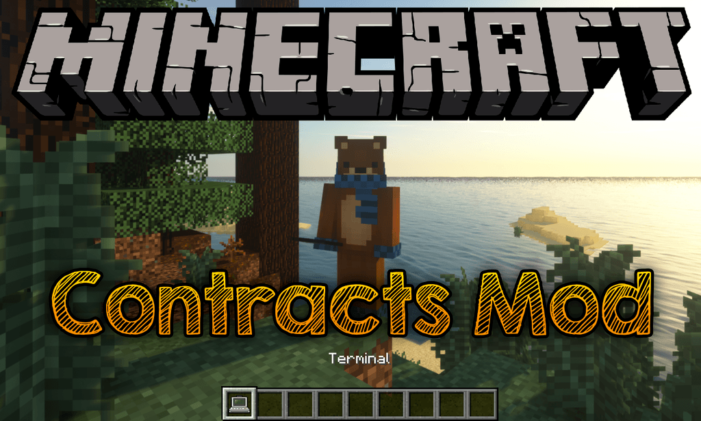 Contracts Mod 1.12.2/1.7.10 (Randomly Generated Tasks)