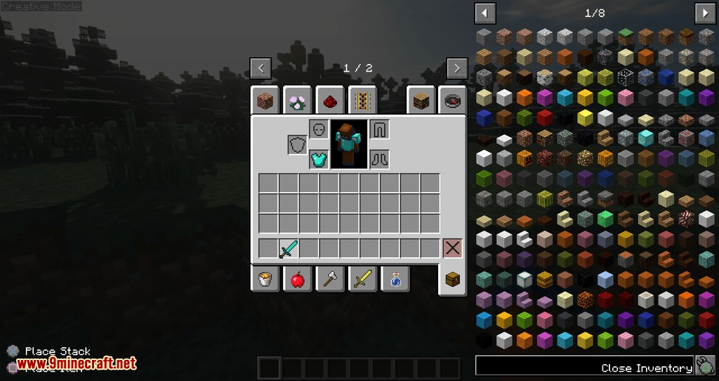 Controllable mod for minecraft 03