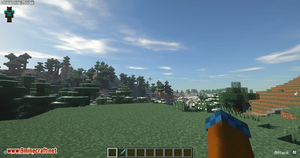 Controllable mod for minecraft 04