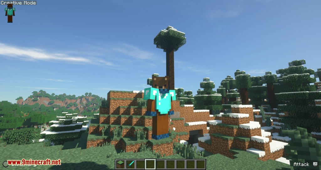 Controllable mod for minecraft 07