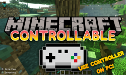 Controllable mod for minecraft logo