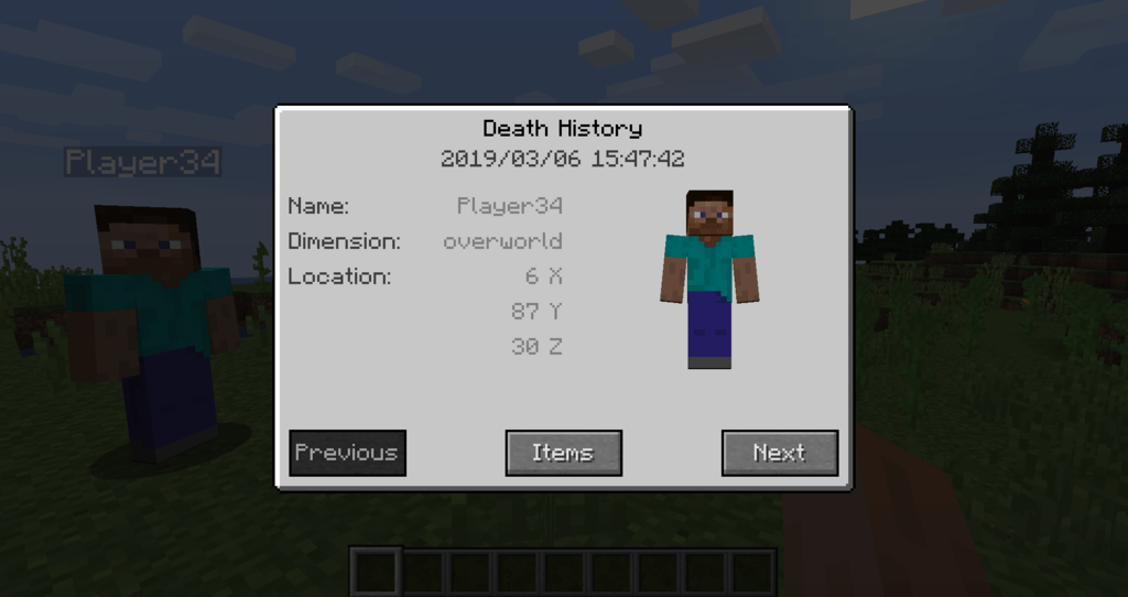 Corpse mod for minecraft 16