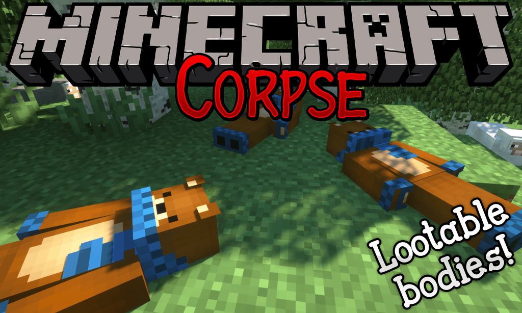 Corpse mod for minecraft logo