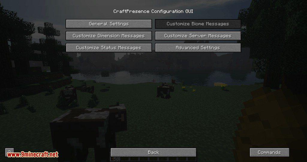 Craft Presence mod for minecraft 02