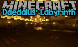 Daedalus_ Labyrinth mod for minecraft logo