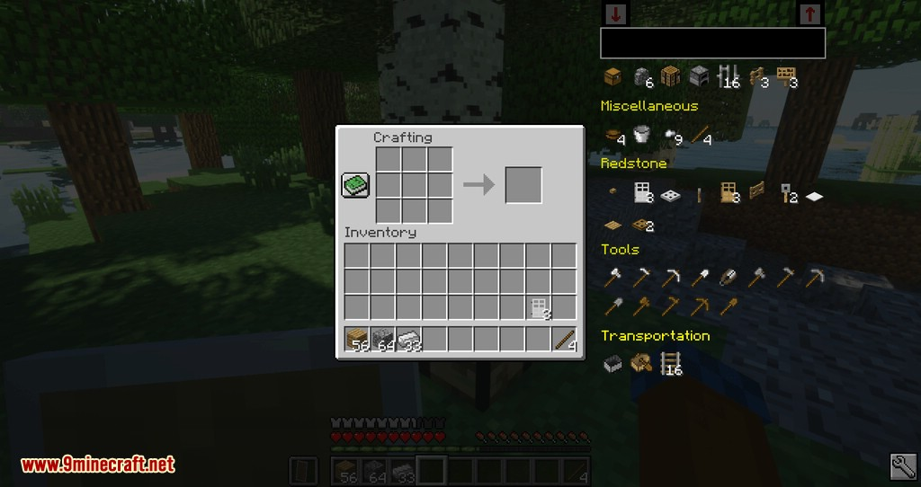 Easier Crafting mod for minecraft 06