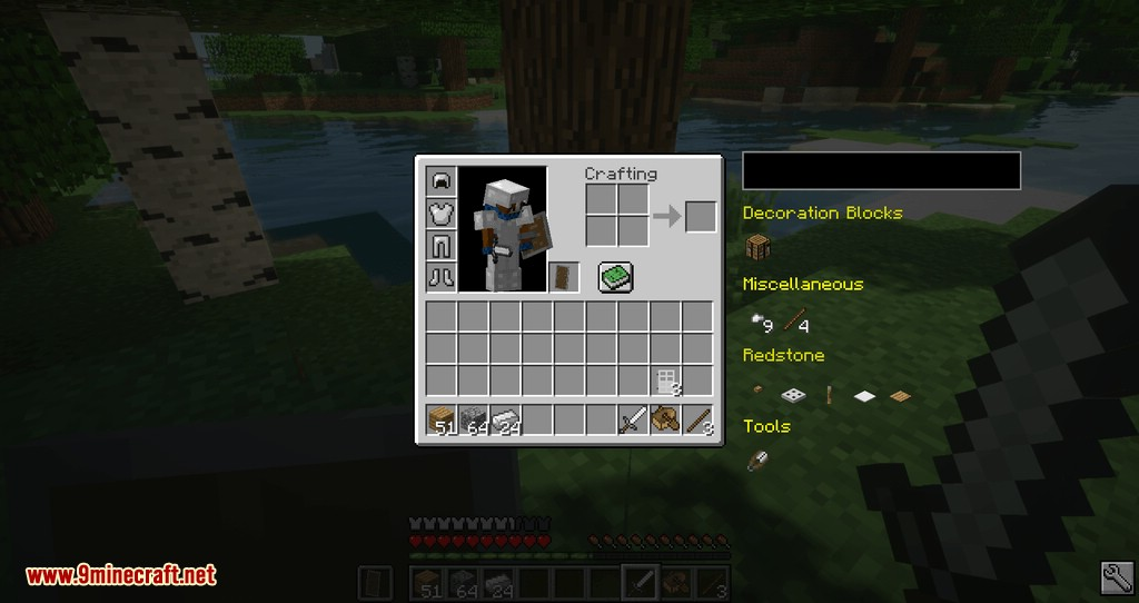 Easier Crafting mod for minecraft 08