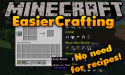 EasierCrafting mod for minecraft logo
