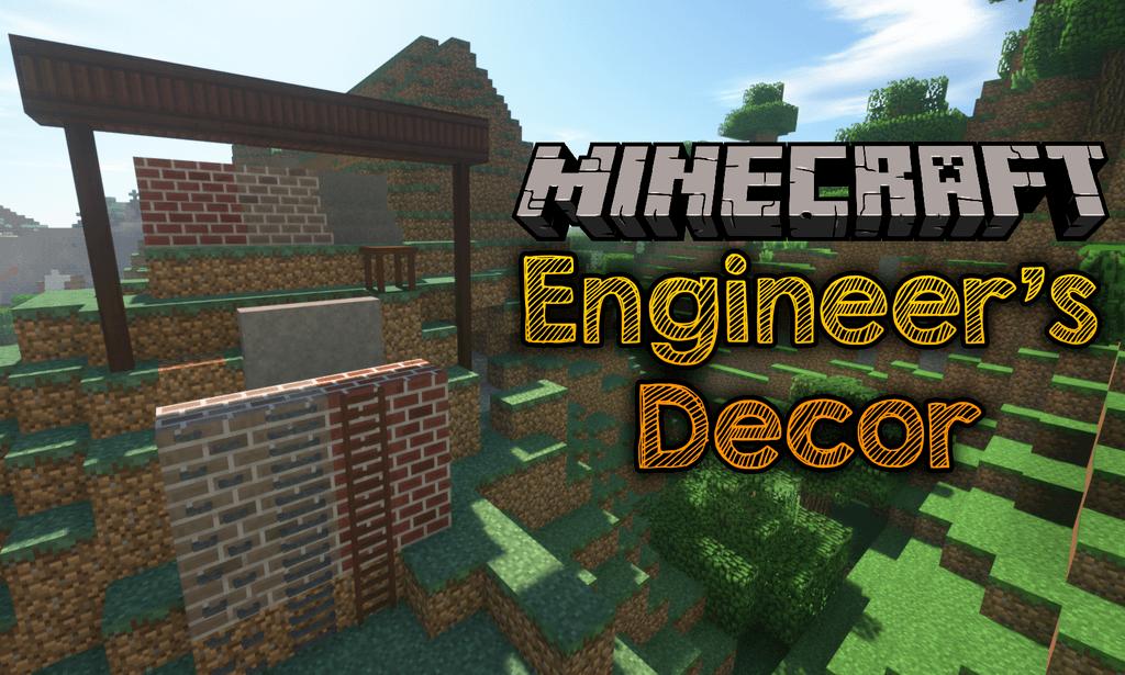 Engineer_s Decor mod for minecraft logo