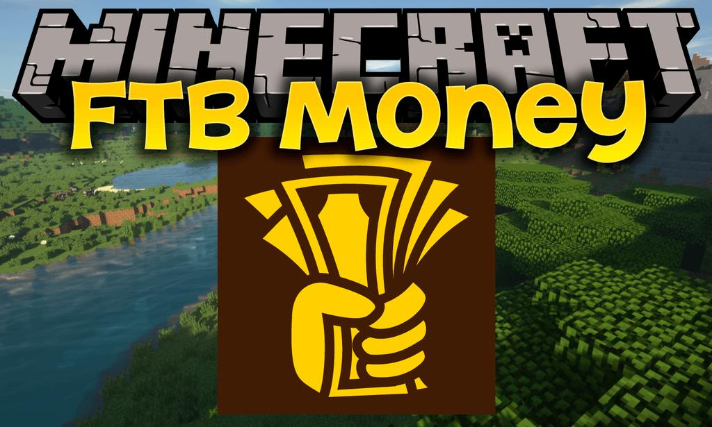 FTB Money mod for minecraft logo