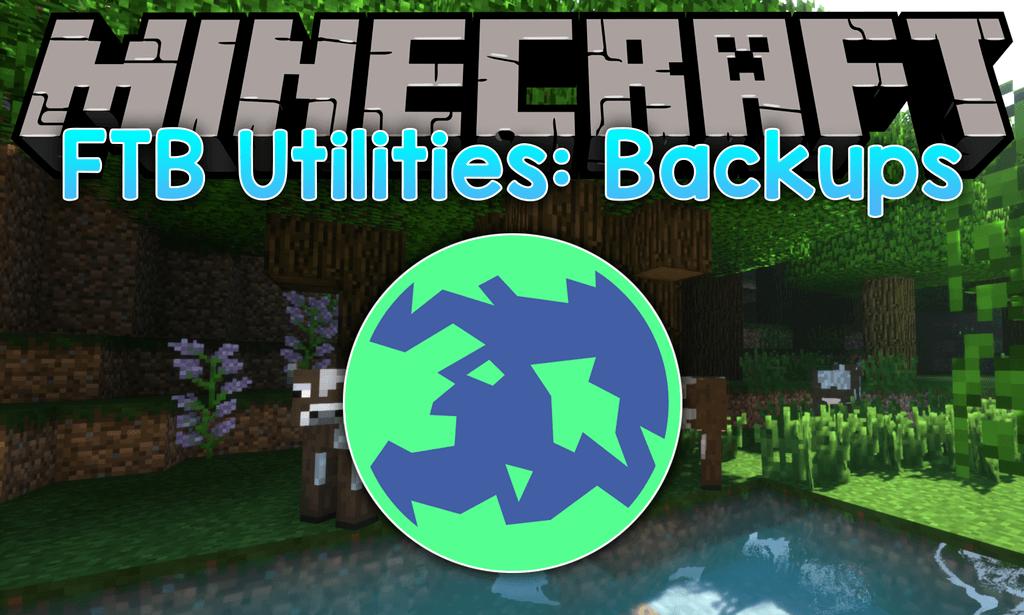 FTB Utilities Backups mod for minecraft logo