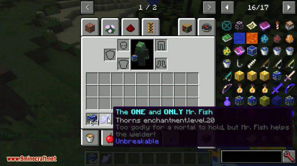 Fish Lucky Block Mod Screenshots 8