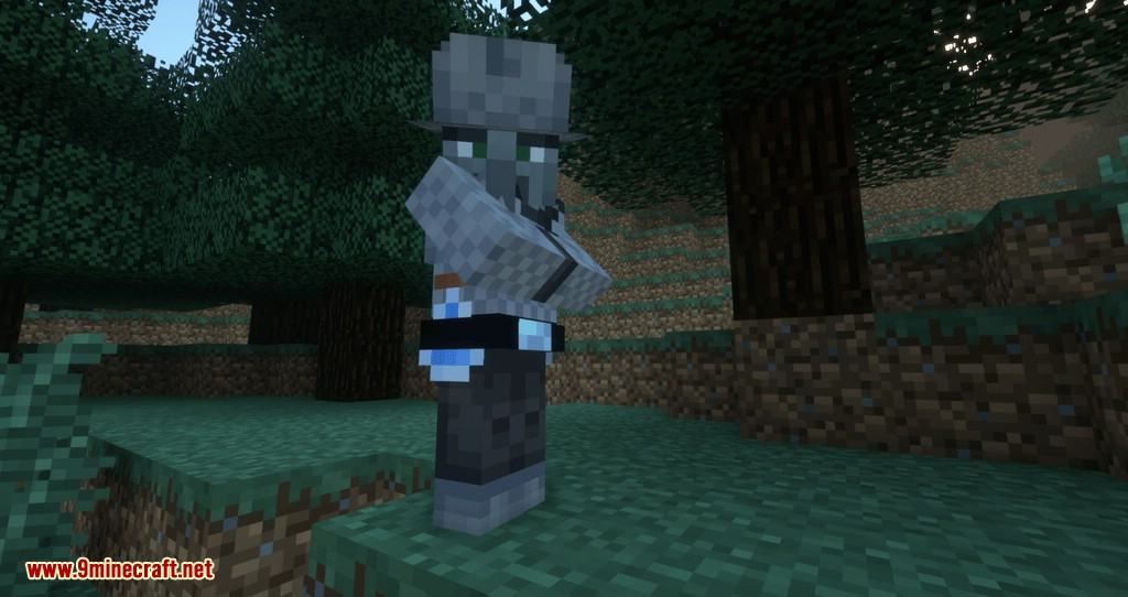 Guard Illagers mod for minecraft 01