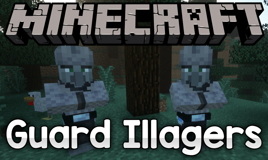 Guard Illagers mod for minecraft logo