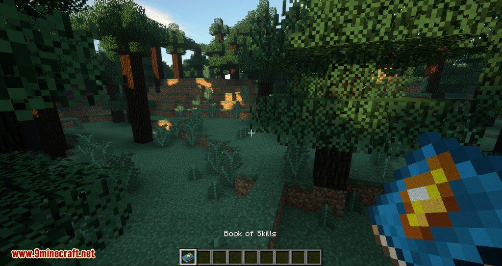 Improvable Skills mod for minecraft 01