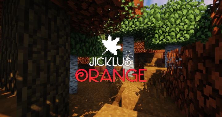 Jicklus Orange Resource Pack