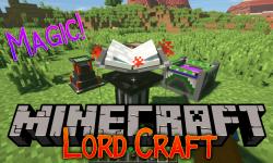 Lord Craft mod for minecraft logo