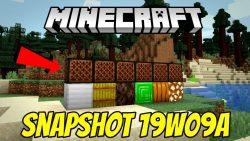 Minecraft 1.14 Snapshot 19w09a