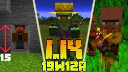 Minecraft 1.14 Snapshot 19w12a