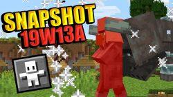 Minecraft 1.14 Snapshot 19w13a
