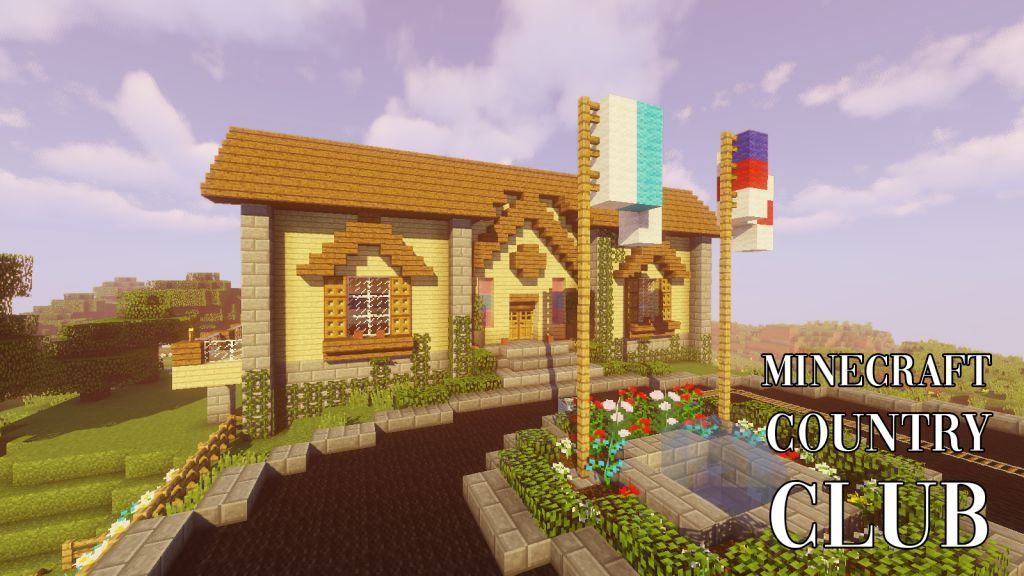 Minecraft Country Club Map Thumbnail