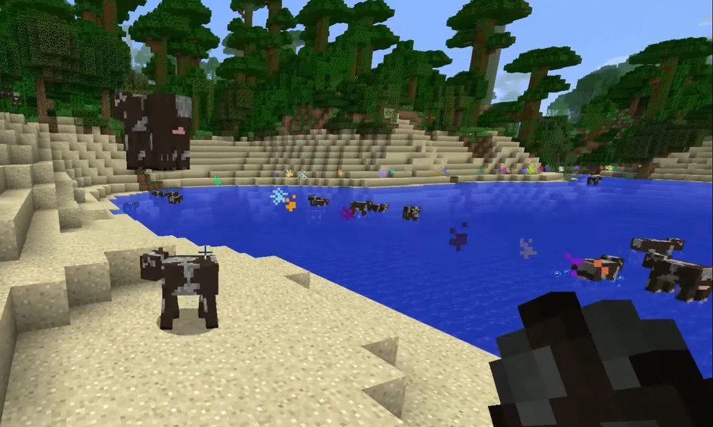 Nyan Cow mod for minecraft 07
