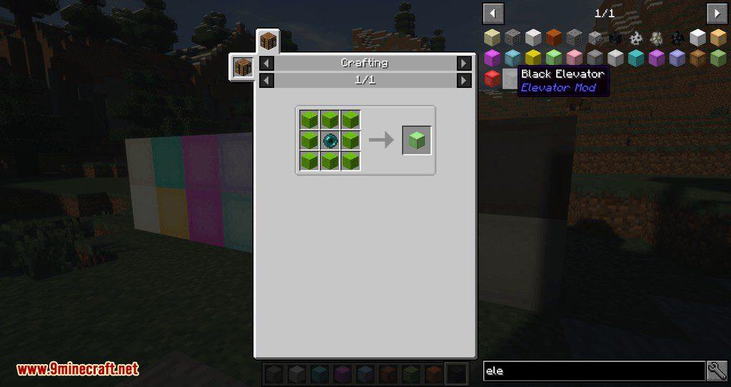 OpenBlocks Elevator mod for minecraft 10