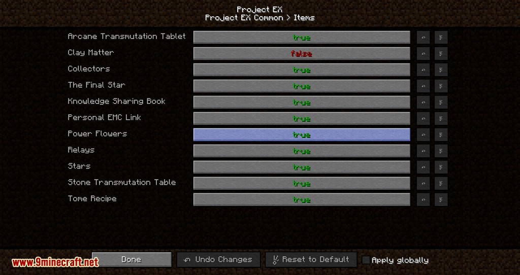 Project EX mod for minecraft 12