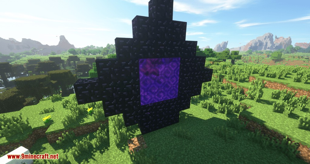 Restricted Portal mod for minecraft 01