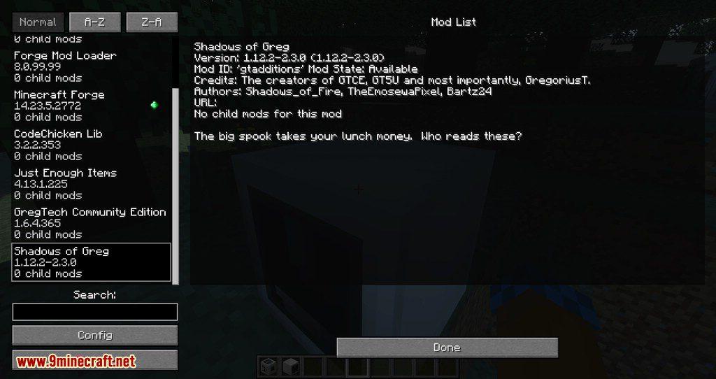 Shadow of Greg mod for minecraft 07