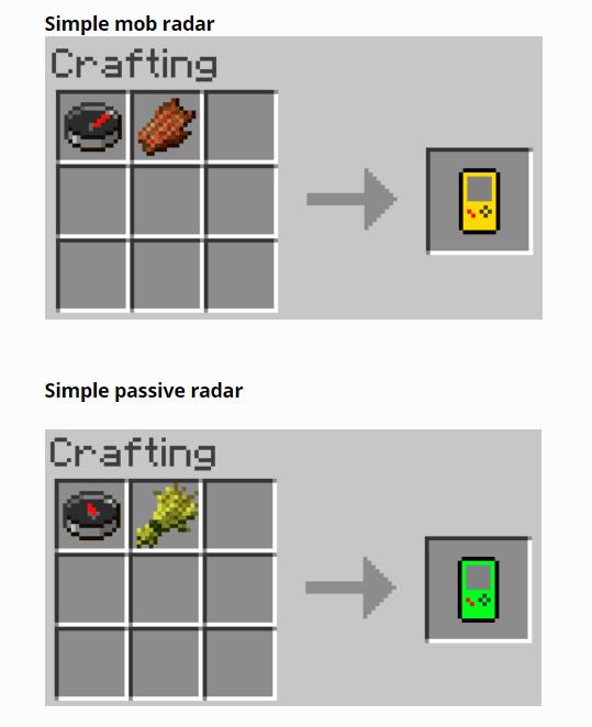Simple Mob Radar mod for minecraft 13