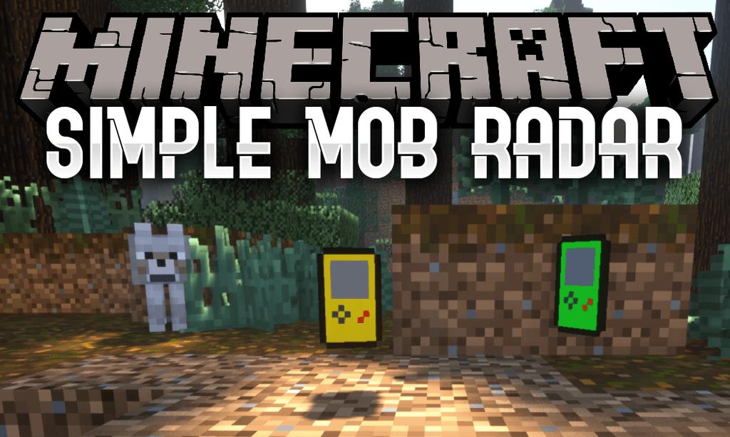 Simple Mob Radar mod for minecraft logo