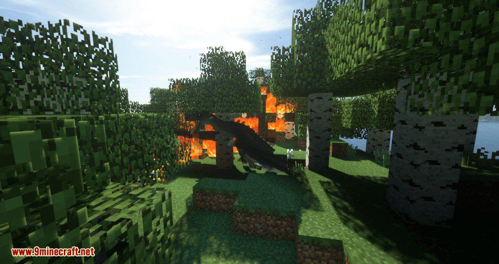 Spartan Fire mod for minecraft 01