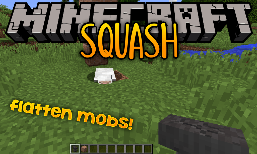 Squash mod for minecraft logo