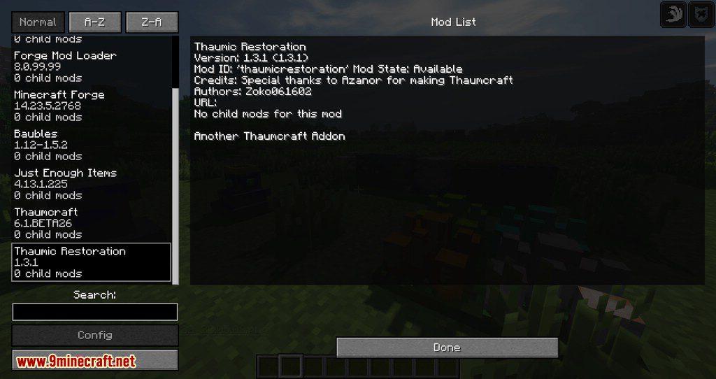 Thaumic Restoration mod for minecraft 10