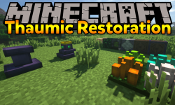 Thaumic Restoration mod for minecraft logo