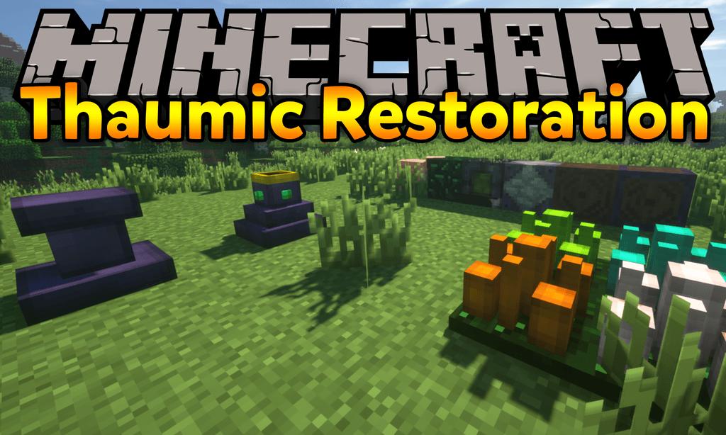 Thaumic Restoration mod for minecraft logo