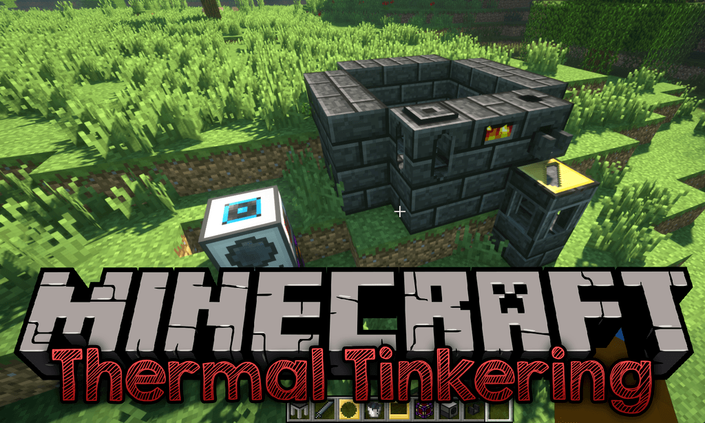 Thermal Tinkering Mod 1.12.2/1.7.10 (Combine Thermal Expansion & Tinkers' Construct)