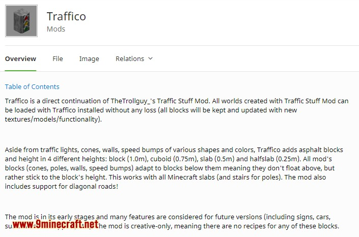 Traffico mod for minecraft 03